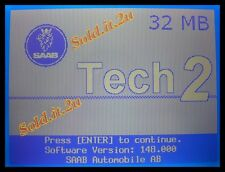 32MB Card SAAB 148.000 Card Tech2 Vetronix, OTC, HP, GM Scanner (1998-2012)