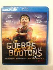 la nouvelle guerre des boutons casta merad canet jugnot Blu-Ray neuf c33