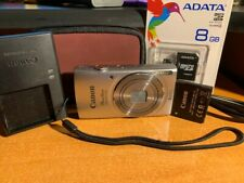 Canon Powershot ELPH 135 Digital Camera w/Extras