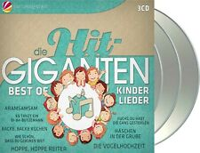 "Various Artists ""hit-giganten - best of kinderlieder"" 3CD-Set NEU 2020"