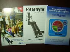 Three Pamphlets Total Gym XLS Manual Nutritional Program Getting Started