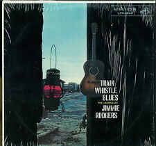TRAIN WHISTLE BLUES by Jimmie Rodgers (RCA 1957) Viny/LP - Mint (Sealed):