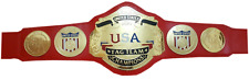 NWA USA TAG TEAM CHAMPIONSHIP BELT.ADULT SIZE REPLICA