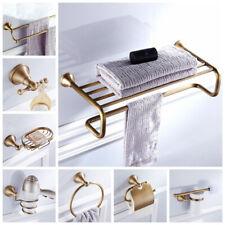 Antique Brass Wall Mounted Bathroom Hardware Bathroom Accessory Set Towel Bar