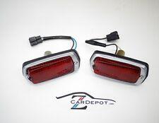 Datsun 240Z 260Z 280Z 1970-78 Side Marker Lights Red Pair New 544