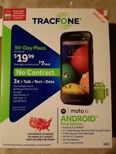 NEW Motorola Moto E Android Smartphone for Tracfone w/ Triple Minutes