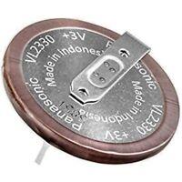 Panasonic VL2330 3V Rechargeable lithium battery for Land Rover Freelander 2