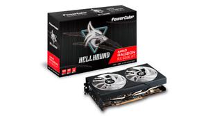 NEW PowerColor AMD Radeon RX 6600XT 8GB GDDR6 Dual Fan Blue LED PCI-E Video Card