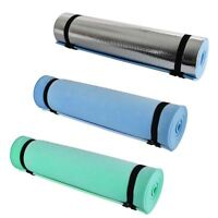 Yoga Mat Thick Comfy 6mm Non-Slip Exercise Camping Picnic Outdoor Hiking Trek