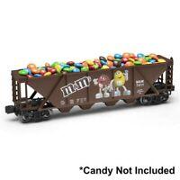 The Menards ~ O Gauge M&M's Hopper Car NEW IN BOX Works good with MTH Lionel