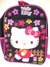 Sanrio Hello Kitty Large Black Backpack