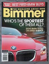 BIMMER BMW MAGAZINE 2010 OCTOBER #93  M M3 E92 E90 E46 E30 E36 F13 E24