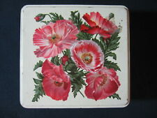 Huntley Palmers Biscuits England Decorative Tin Box Vintage Appox. 9X4 Inches
