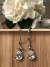 S-shaped Diamante Earrings
