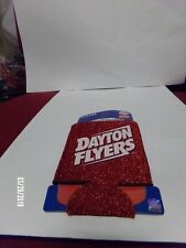 Dayton Flyers Kolder Red Glitter 12 Oz Can Coolie Coozie Koozie Brand New