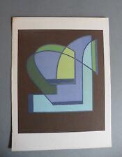 Mario Radice Riproduzione litografica certificata Bolaffi Arte Originale '70