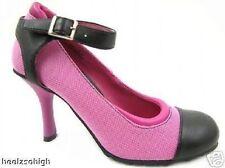 Zapatos de tacón de mujer de color principal rosa sintético Talla 38.5