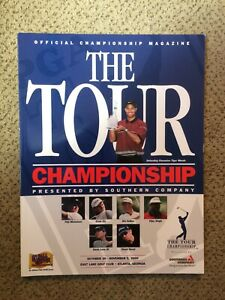 2000 The Tour Championship PGA Golf Program Tiger Woods on Cover