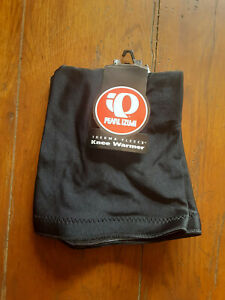 Vintage NOS Knee Warmers L Sleeve 1 Pair Black Pearl Izumi Thermal Fleece Large