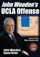 John Wooden's UCLA Offense [With DVD] by John Wooden (English) Paperback Book