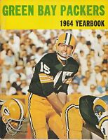1964 GREEN BAY PACKERS NFL FOOTBALL YEARBOOK - BART STARR - VERY NICE