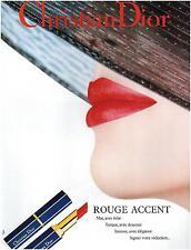 ▬► PUBLICITÉ ADVERTISING AD Christian Dior maquillage photo TYEN  1992