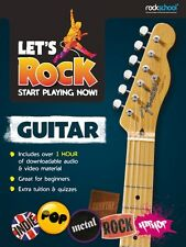 ROCKSCHOOL LET'S ROCK Start Playing Now GUITAR*