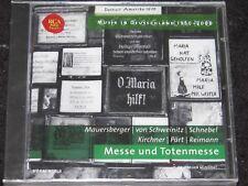 MUSIK IN DEUTSCHLAND Mauersberger, Pärt.../ German PROMO CD 2005 RCA 74321735712