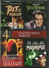 Pit and the Pendulum / Tales of Terror / Masque of the Red Death / Madhouse DVD