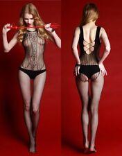 Woman Fishnet BODYSTOCKING Babydoll Dress Sexy adult Bodysuit Lingerie Underwear