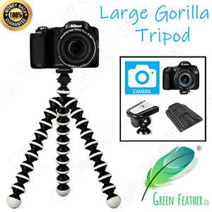 LARGE Flexible Gorilla Tripod   the Original Camera Kit   Canon Nikon Sony DSLR