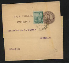 Argentina  uprated wrapper to Belgium                MS0112