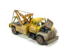 "N Scale 60's ""I"" Class Loadstar Wrecker (Distressed) Kit Showcase Miniatures(89)"