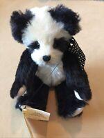 TEDDY BEAR VINTAGE Andy Panda 93/50 Handmade BY JANIE HEFFEL Mohair