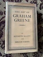 The Art of Graham Greene London: Hamish Hamilton 1951, 1st ed NF/VG w/ price