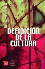 NEW - Definicion de la cultura (Spanish Edition) by Echeverria Bolivar