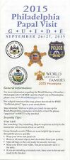 2015 Philadelphia Papal Visit Guide Pope Francis World Meeting Families Philly