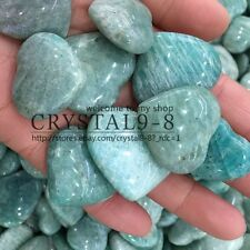 1PC Amazonite Small Heart Crystal Mineral Specimen Madagascar only one