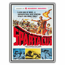 SPARTICUS 1960 METAL SIGN WALL PLAQUE Film Movie Advert poster reprint