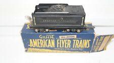 AMERICAN FLYER  # 0-GAUGE =BLACK TENDER   CAR  BOX