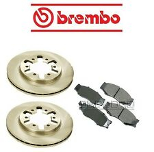 Brembo Front Brake Kit with Rotors & Pads fits Nissan Pickup 95-97 L4 2.4L