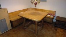 Eckbank Bauernstube mit Jogltisch Bauerntisch 220 x 220 - Tisch 120 x 120 cm