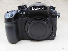 Panasonic LUMIX DMC-GH4 Digital Camera W/ Voightlander Lens 17.5mm Micro 4/3's