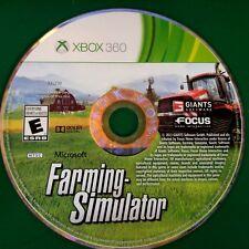 Farming Simulator (Microsoft Xbox 360, 2013)  Disc Only # 14973