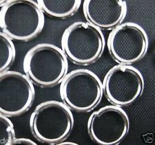 4Colors 4mm,5mm,6mm,7mm,8mm,10mm Jump Rings Open Connectors