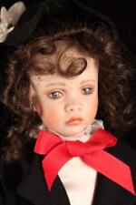 OOAK Porcelain Mary Poppins Chantel Mold Patricia Rose Art Doll Sharon Schiebel