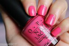 New! OPI ~THAT'S HOT! PINK~ Bright Fuchsia Pink Nail Polish Lacquer .05 oz B68