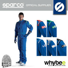 SALE! SPARCO INDOOR K-1 K1 KARTING SUIT KART OVERALLS BLUE SIZE S TO XXL 002325