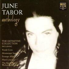 JUNE TABOR - Anthology (CD 1993) UK First Edition EXC-NM Best of/Greatest Hits