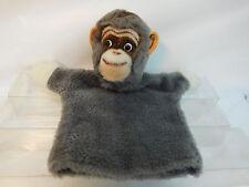 MES-51870Ältere Steiff Handpuppe Gorilla L:ca.25cm mit Holzwollstopfung